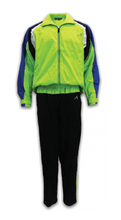 ATTOP TRACKSUIT ATS132 APPLE GREEN/ROYAL