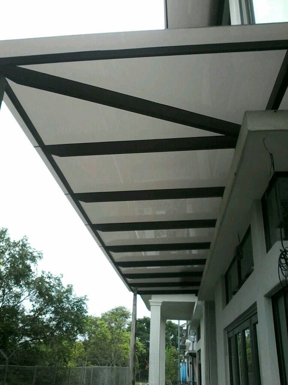 Roofing Awning Roofing Malaysia Reference Renovation Design Homebagus Home And Deco Online Expo