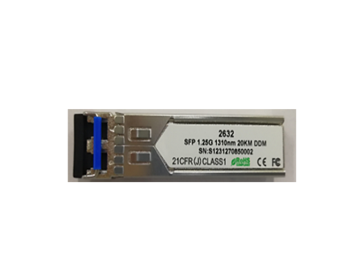 1.25Gbps Optical Transceiver - Singlemode (AZSFP-2SLC)