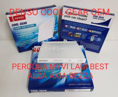 PERODUA MYVI LAGI BEST AXIA BEZZA ALZA BLOWER CABIN FILTER DENSO COOL GEAR 145520 2510