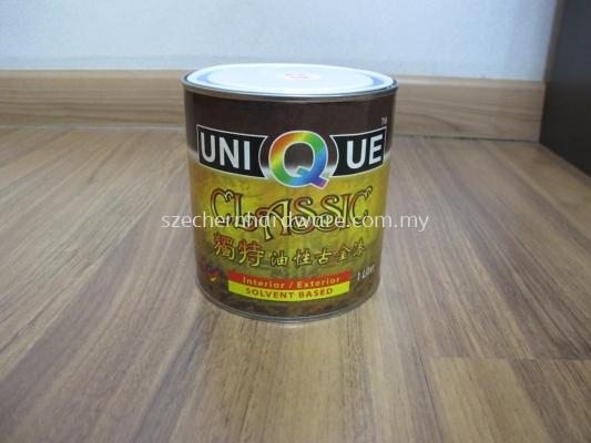 UNIQUE GOLD PAINT C01 (SOLVENT BASE)