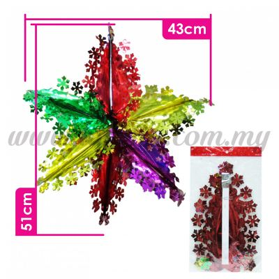 Decoration Foil Star Small(PD-STS)