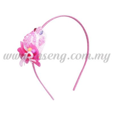 Hairband 18 LITTLE HAT *PINK (DU-HB18-P)