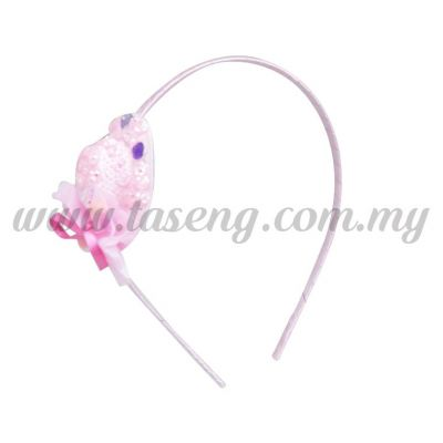 Hairband 18 LITTLE HAT *BABY PINK (DU-HB18-BP)