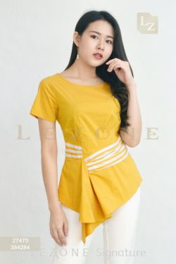 27470 HIGH-LOW BLOUSE【BUY 2 FREE 3】