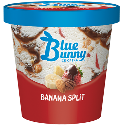 Blue Bunny Pint Banana Split