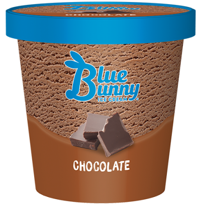 Blue Bunny Pint Chocolate