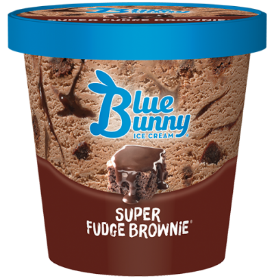 Blue Bunny Pint Super Fudge Brownie