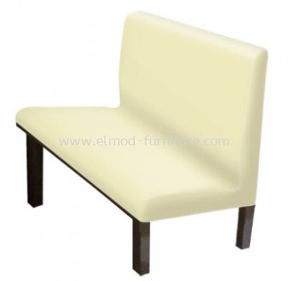 Fiberglass Booth Seating With Backrest
