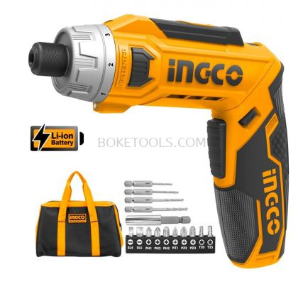 (AVAILABLE IN PIONEER BRANCH) INGCO CSDLI0801 Lithium-Ion Cordless Screwdriver
