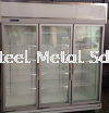 3 door display chiller-silver Commercial Refrigeration