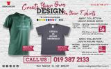 Create Your Own DESIGN on Your T-shirt...