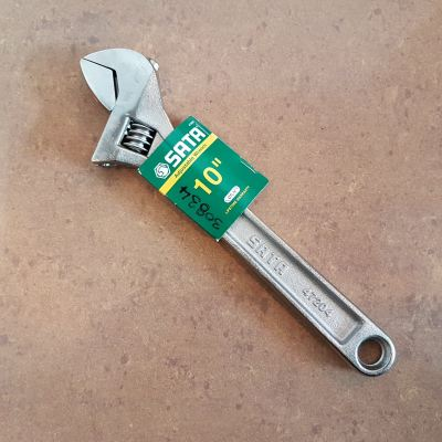Sata 47204 10 Inch Adjustable Wrench ID30834