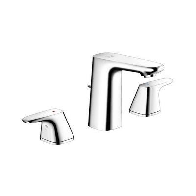 Signature 3-Hole Basin Mixer with Pop-up Drain FFAS1703-1015L0BC0