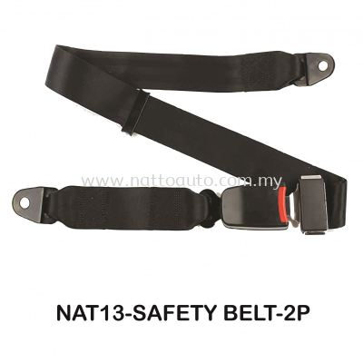 SAFETY BELT 2POINT E-MARK(MANUAL)