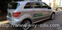 Straits car sticker Car Sticker