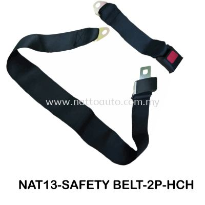 SAFETY BELT 2POINT (MANUAL)