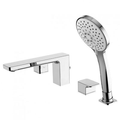Acacia Evolution Deck Mounted Bath&Shower Mixer With Shower Kits FFAS1300-601500BF0