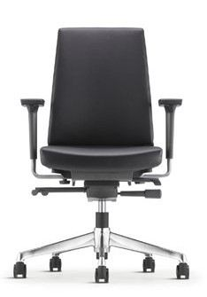 CLOVER EXECUTIVE LOW BACK CHAIR FABRIC