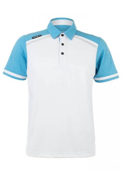 Crest Link Dri Fit White Side Strip Light Sky Blue Apparel Men