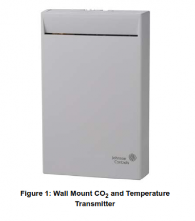 CD-W00-00-2, CD-W00-N0-2 /..Series Wall Mount CO2 and Temperature