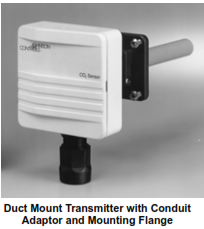 CD-Pxx-00-0 Series -Duct Mount CO2 Transmitter