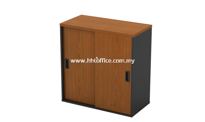 GS808-Sliding Door Low Office Cabinet