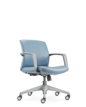 FITS LOW BACK CHAIR-GREY-FABRIC