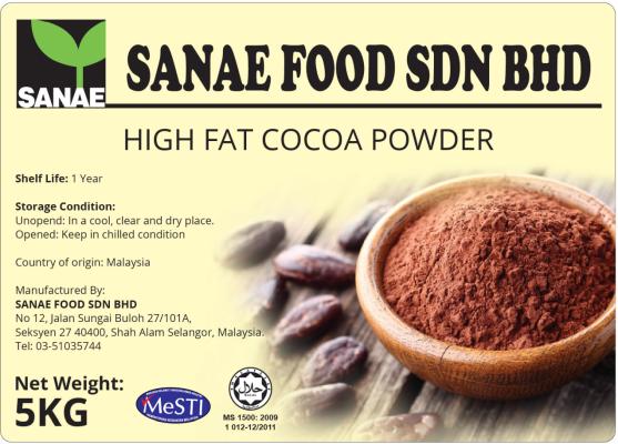 High Fat Cocoa Powder