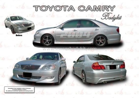 TOYOTA CAMRY 2004 AM STYLE BODYKIT