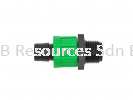 Male Thread Coupling Drip Tape Accessories Drip Irrigation System Irrigation