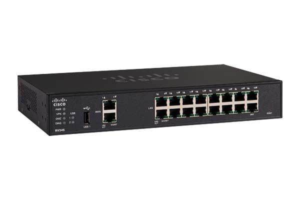 Cisco Dual WAN Gigabit VPN Router.RV345
