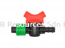 Barb-Lock Valve For Tape Drip Tape Accessories Drip Irrigation System Irrigation