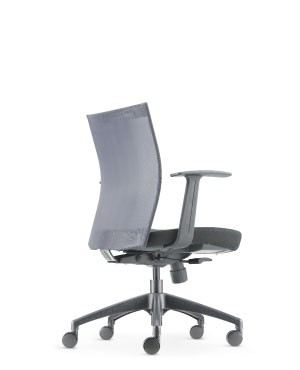 MESH 2 LOW BACK CHAIR-FABRIC