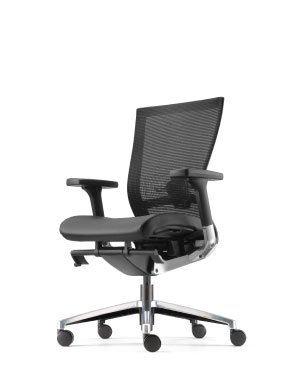 MAXIM EXECUTIVE MEDIUM BACK CHAIR-PU LEATHER