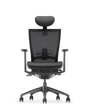 MAXIM HIGH BACK CHAIR-MESH-FABRIC