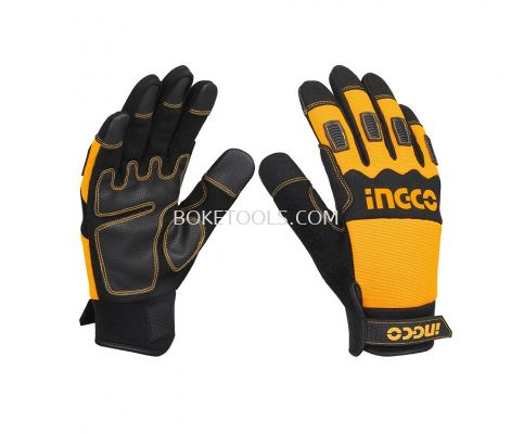 (AVAILABLE IN PIONEER BRANCH) INGCO HGMG02-XL Mechanic Gloves