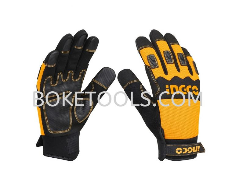 INGCO HGMG02-XL Mechanic Gloves MECHANIC GLOVES SAFETY PRODUCTS POWER TOOLS - INGCO
