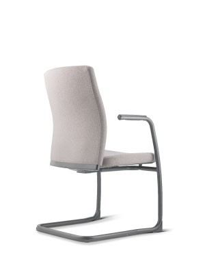 KARISMA  VISITOR CHAIR WITH ARMREST-FABRIC