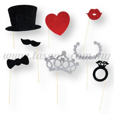 Photo Booth 06 -1pack *8pcs (P-B06)
