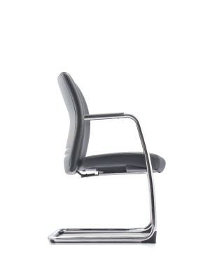 ERGO EXECUTIVE VISITOR CHAIR WITH ARMREST-FABRIC