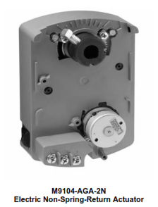 M9104-AGx-2N Electric Non-Spring-Return Actuators