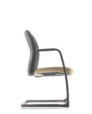 ERGO VISITOR CHAIR WITH ARMREST-FABRIC