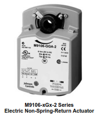M9106-xGx-2 Series Electric Non-Spring-Return Actuators
