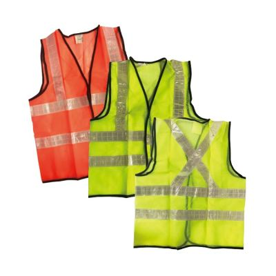 MK-SSC-20036 SAFETY VEST WITH REFLECTIVE TAPE