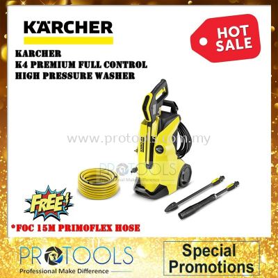 KARCHER K4 PREMIUM FULL CONTROL HIGH PRESSURE WASHER