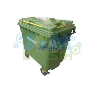 4 Wheel Waste Bin - Mobile Garbage Bin (Evolution) 660 liter