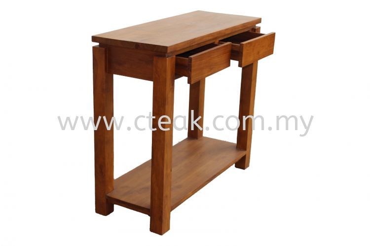 2 Drawers Console  Table