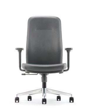 ARONA EXECUTIVE MEDIUM BACK CHAIR-PU/PVC