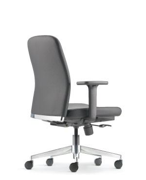 ARONA EXECUTIVE LOW BACK CHAIR-PU/PVC